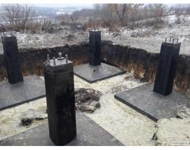 Фундаментов для сельского хозяйства : склады резервуары, дымовые трубы