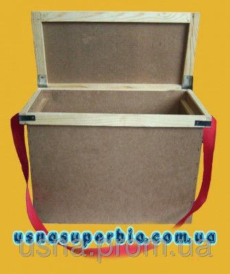 Ящик для перевозки пчел для 6-ти рамок типа Дадан