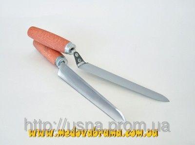 Нож - трапеция  из нержавеющей стали (180 мм)