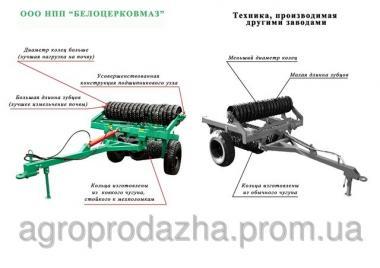Каток прицепной УГП-6