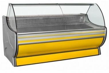 Холодильна вітрина COLD/Колд W-G 1.2; 1.5; 1.8; 2.0; 2.4 м.