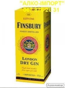 Оригінальний джин Finsbury 2 L тетрапак, гуртом і в роздріб