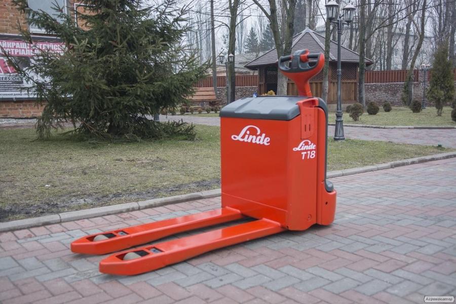 Електровізок Linde T18