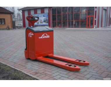 Электротележка Linde T18