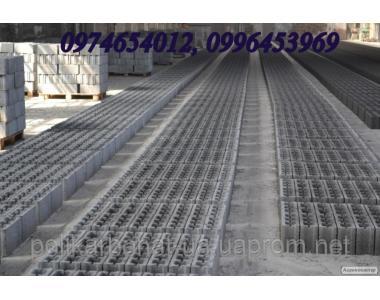 Шлакоблок ГОСТ 6133-99, усиленный, марка М75