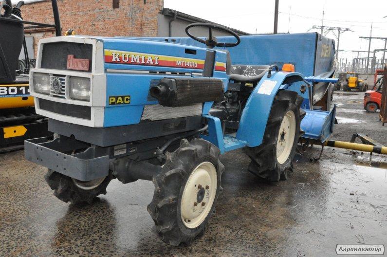 Міні трактор з фрезою Mitsubishi-MT1401D