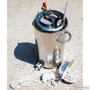 Автоклав электрический, огневой 30 л (21 банка 0,5л). Нержавейка