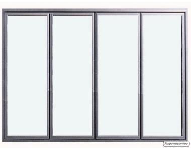 Двері вітринні холодильні та морозильні