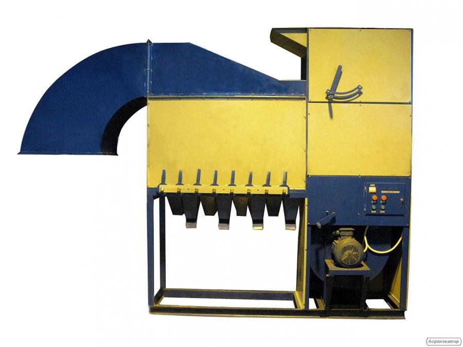 Сепаратор аеродинамічний