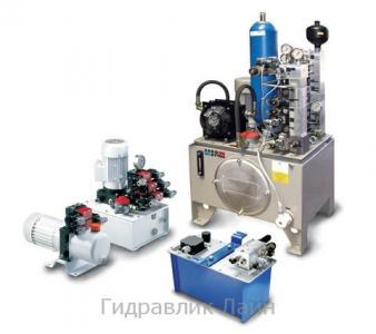 Проектування і розробка гідравлічних насосних станцій в широкому асортименті згідно технич. завданням Замовника
