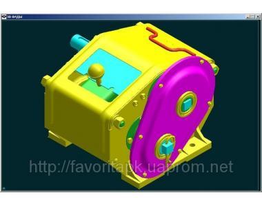 Механизм передач 108.00.2020А-02 на сеялку СЗ-3,6