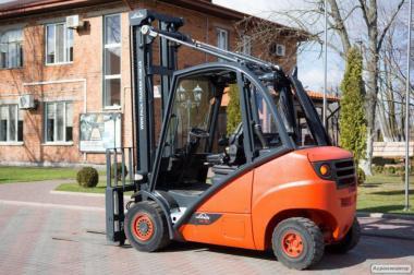 Автонавантажувач вилковий Linde H30D