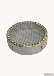 Колпачок круглый металический на 85 мм
