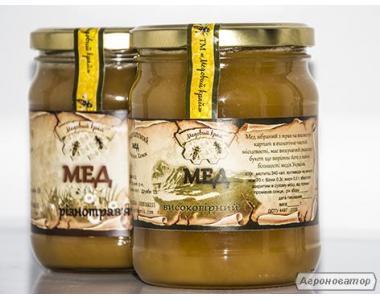Мед Високогіря карпат   honey-land.com.ua