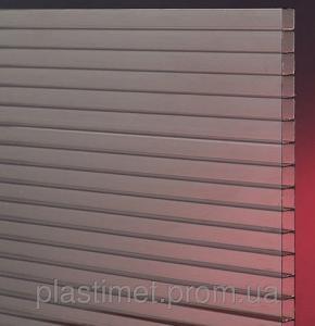 Сотовый поликарбонат POLICAM прозрачный 8мм