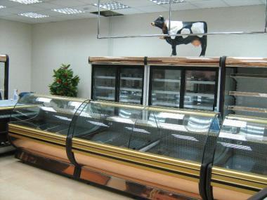 Холодильная витрина Gold 1,2 1,5 1,7 2,0 Росс