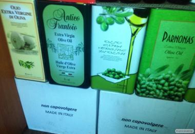 Масло оливковое.(1.3.5.лит.)