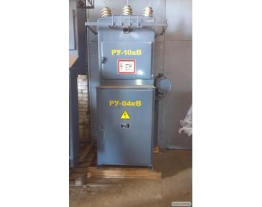 Трансформаторная подстанция КТП 25-1000кВА 6(10)-0,4кВ.