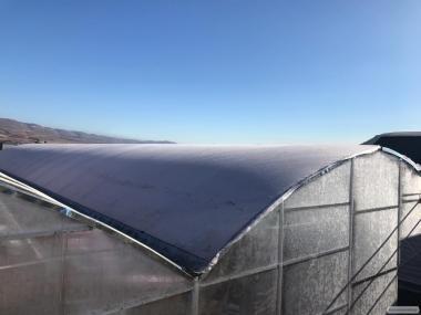 Зимняя энергосберегающая теплица-термос