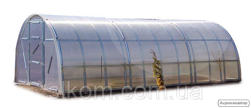 Теплица Веселка 3х6х2м с поликарбонатом 4 мм