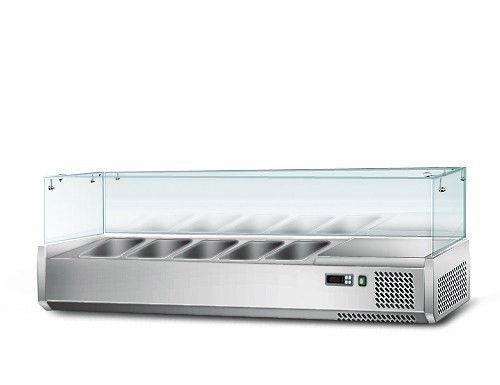 Вітрина для гастроємкостей GGM AGS123 (холодильна)