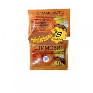 Стимовіт (квітковий пилок, глюкоза, екстракт часнику) — 40 р. (8 доз)