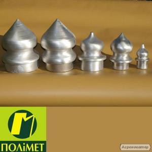 Алюмінієві наконечники для металічних заборів.