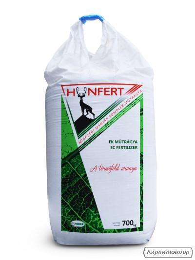 Добриво мінеральне HUNFERT NPK 9-15-15(Ca, Mg, S) 10-4-15.