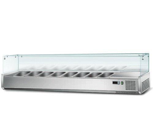 Вітрина для гастроємкостей GGM AGS184 (холодильна)