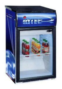Барний холодильна шафа вітрина Inter-501/3Т Ш-0,14