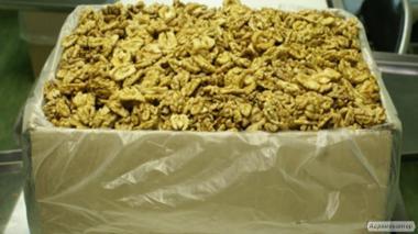 Грецкий орех (чищенный, бабочка, четверть, крошка, микс), в скорлупе.
