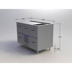 Стол холодильный Skycold-Porkka B55/B2S-2-2C