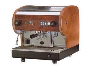 Напівавтоматична кавова машина SMSA/1 LISA bw