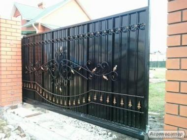 Ворота гаражные, откатные, секционные, распашные