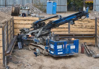 Буровая установка HUTTE ремонт гидравлики