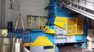 Пресс автоматический для вторсырья (макулатуры, ПЭТ) Presona, 40 тонн