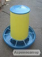 Бункерная кормушка 3 кг (для кур, перепелов и др.) (БК-2)