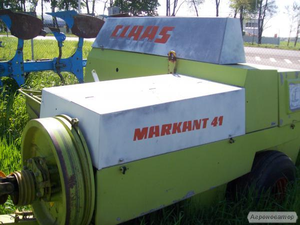 Пресс-подборщик (пресс-подборщик) CLAAS MARKANT 41