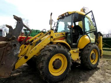 Екскаватор New Holland LB115 (2004)