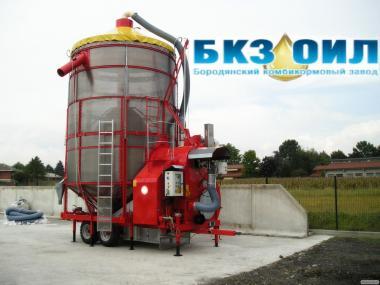Сушіння, очищення та зберігання зерна