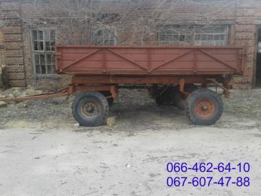 Продам прицеп тракторный самосвальный 2ПТС-4