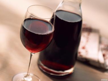 Вишневое домашнее вино