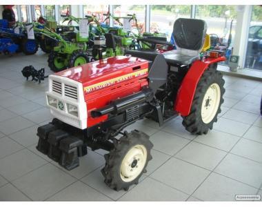 Продам міні-трактор Mitsubishi MT-180D