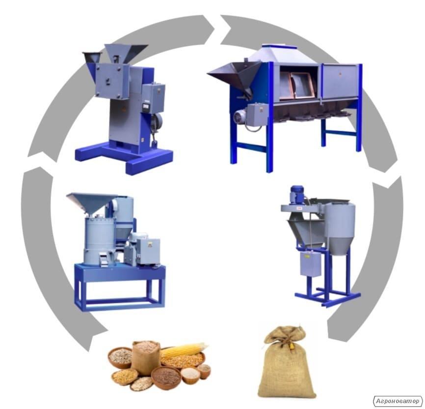 Універсальні комплекси для виробництва круп і борошна