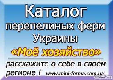 Реєстрація перепелиного господарства в каталозі