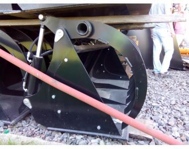 Ківш до телескопічним навантажувачу, навісне обладнання