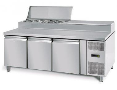Стіл-саладетта GGM ZBS208 ( холодильний)