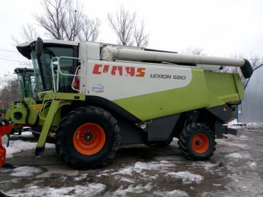 Комбайн зернозбиральний CLAAS LEXION 580