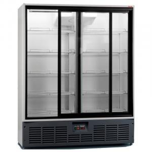 Холодильна шафа Аріада R1400 MC (скляні двері)
