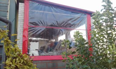 Мягкие стены и окна ПВХ